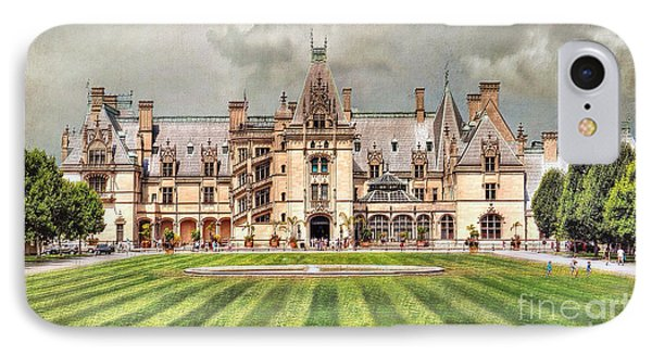 Biltmore House IPhone Case by Savannah Gibbs
