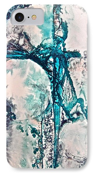 IPhone Case featuring the painting Binding Force by Carolyn Rosenberger