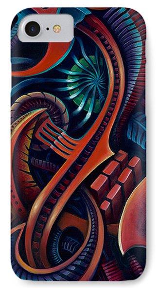Bio Mech II IPhone Case by Steve  Stilo  Gleason
