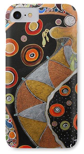 Biological Rhythms.. IPhone Case by Jolanta Anna Karolska
