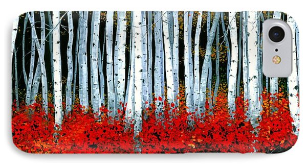 Birch 24 X 48  IPhone Case by Michael Swanson