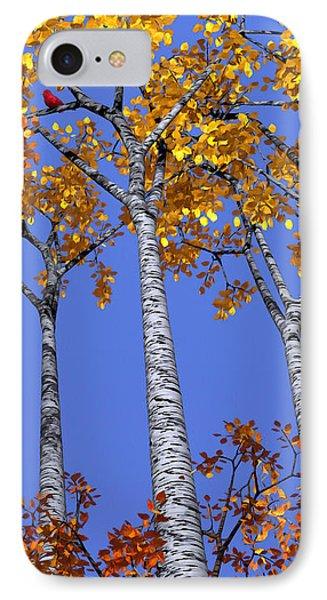 Birch Grove Phone Case by Cynthia Decker