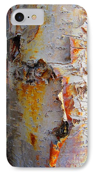 Birch Paper IPhone Case by Heather  Hiland