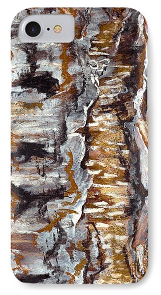 Birch Peel IPhone Case by Heather  Hiland