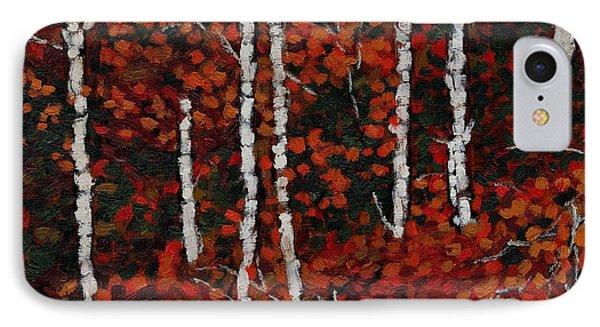 Birches IPhone Case by David Dossett