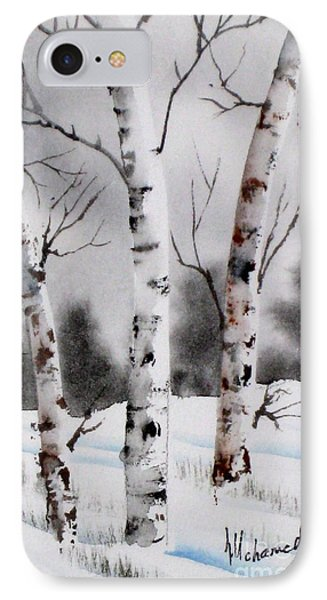 Birches Phone Case by Mohamed Hirji