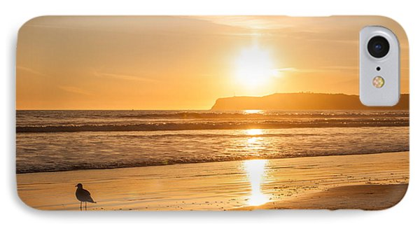 IPhone Case featuring the photograph Bird And His Sunset by John Wadleigh