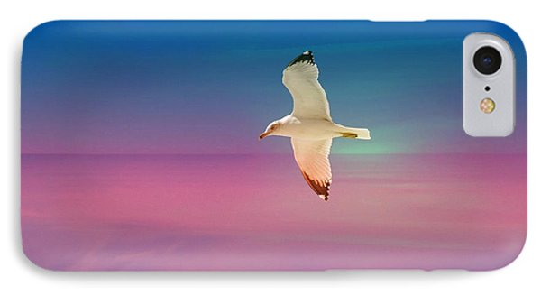 IPhone Case featuring the photograph Bird At Sunset by Athala Carole Bruckner