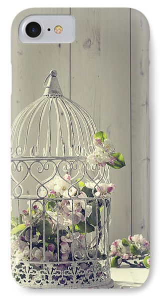 Bird Cage IPhone Case by Amanda Elwell