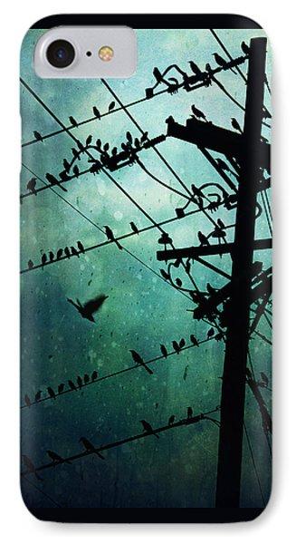Bird City IPhone Case by Trish Mistric