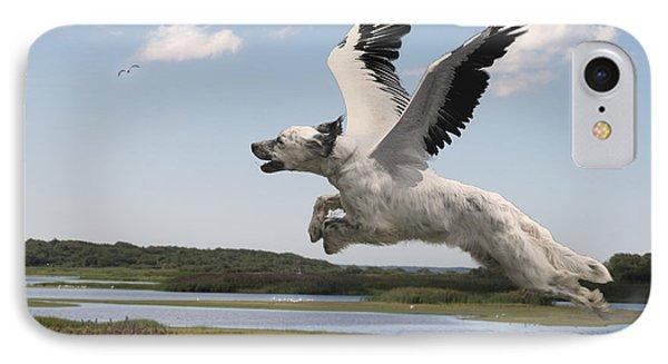 Bird Dog IPhone Case by Rick Mosher