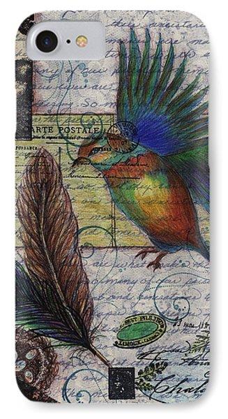 Bird Flight IPhone Case by Tamyra Crossley
