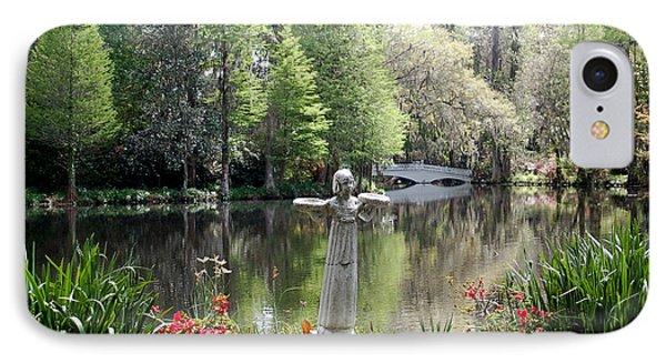 Bird Girl Of Magnolia Plantation Gardens IPhone Case