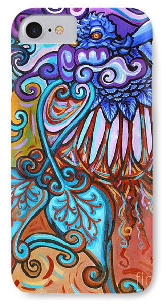 Bird Heart Iv IPhone Case by Genevieve Esson
