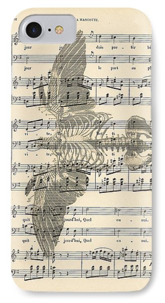 Bird Music Phone Case by Georgia Fowler