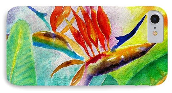 Bird Of Paradise IPhone Case by Carlin Blahnik