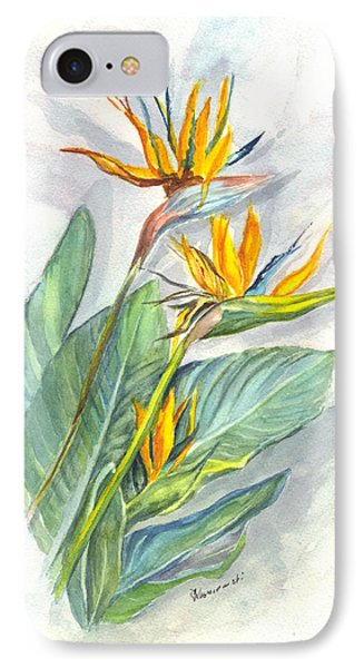 Bird Of Paradise IPhone Case by Carol Wisniewski