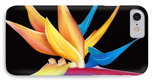 Bird Of Paradise IPhone Case