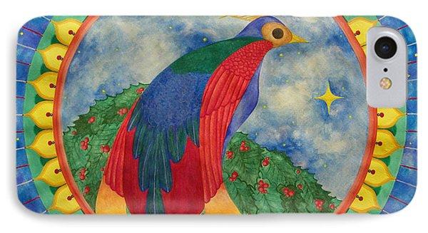 Bird Of Paradise Mandala Phone Case by Vlatka Kelc