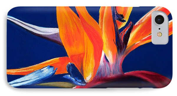 Bird Of Paradise Phone Case by Mary Benke
