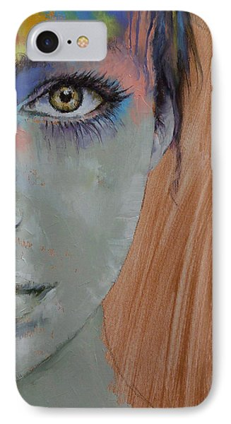 Bird Of Paradise IPhone Case by Michael Creese