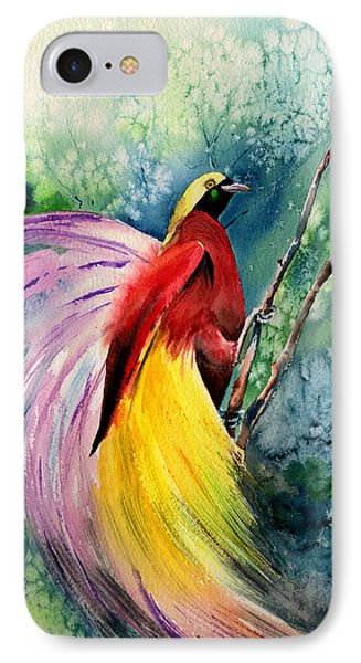 Bird Of Paradise New-guinea IPhone Case by Isabel Salvador