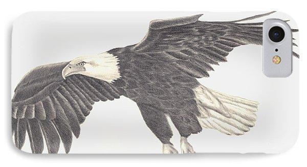 Bird Of Prey IPhone Case by Patricia Hiltz