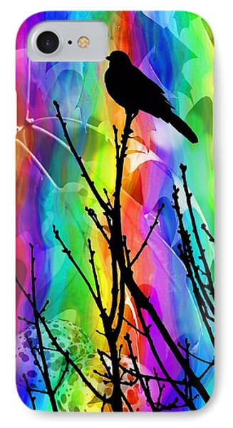 IPhone Case featuring the photograph Bird On A Stick by Elizabeth Budd