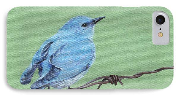 Bird On A Wire IPhone Case by Natasha Denger