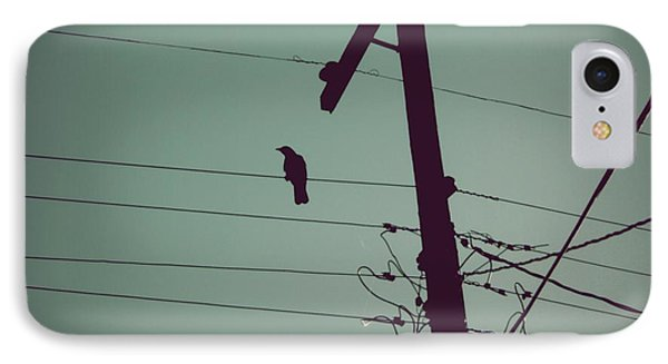 Bird On A Wire IPhone Case by Patricia Strand