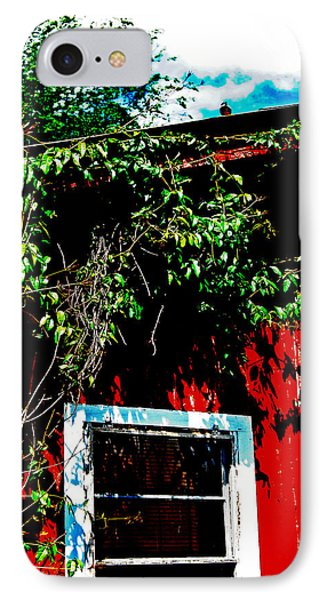 IPhone Case featuring the photograph Bird On Roof by Maggy Marsh