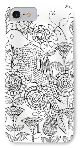 Bird Parrot IPhone Case by Neeti Goswami