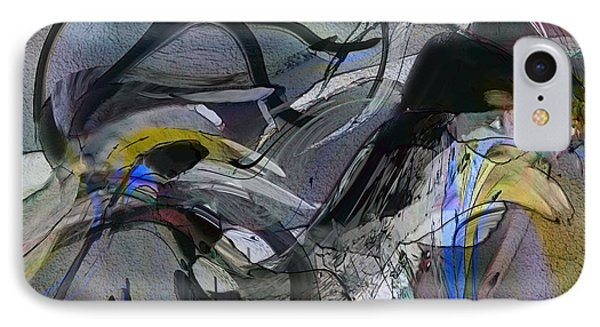 IPhone Case featuring the digital art Bird That Wept With Me by Richard Thomas