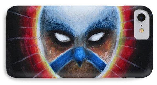 Bird Totem Mask IPhone Case by Samantha Geernaert