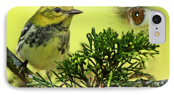 Bird Watching Phone Case by Inspired Nature Photography Fine Art Photography