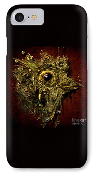 IPhone Case featuring the digital art Birdmachine by Alexa Szlavics