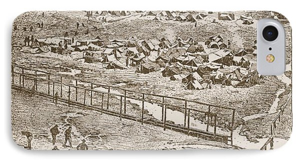 Birds-eye View Of Andersonville Prison IPhone Case