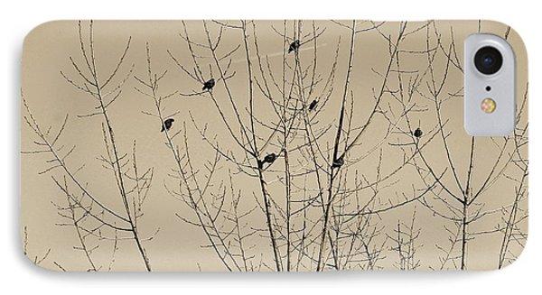 Birds Gather IPhone Case