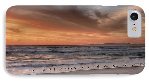 Birds In The Surf IPhone Case by Bill Roberts