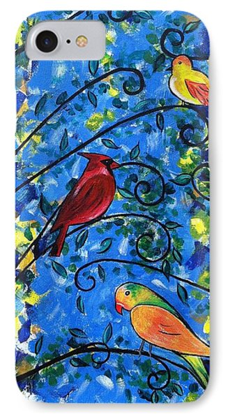 Birds Of Color IPhone Case