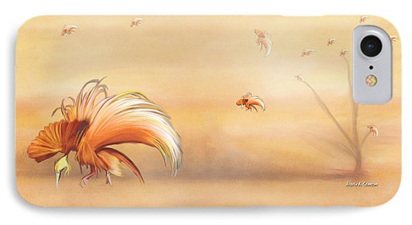 Birds Of Paradise In The Fog Phone Case by Angela A Stanton