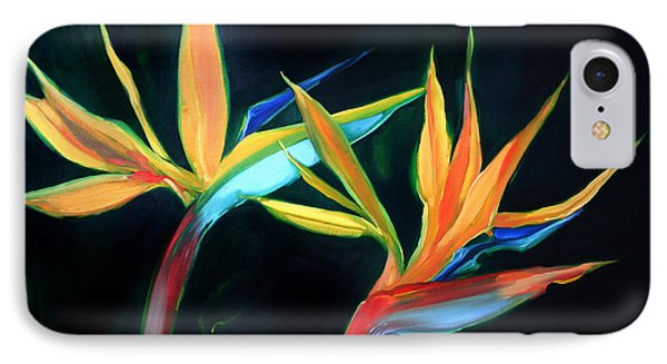 Birds Of Paradise IPhone Case by Shelley Overton