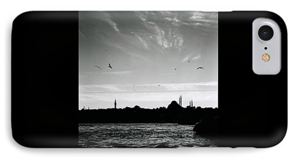 Birds Over The Golden Horn IPhone Case by Shaun Higson