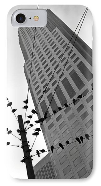 IPhone Case featuring the photograph Birds Station by Jonathan Nguyen