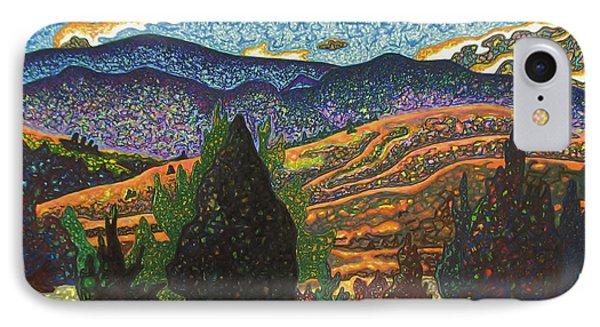 Birdseye Landscape #1 Phone Case by Dale Beckman