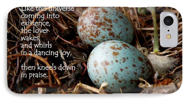Birdsong From Inside The Egg Phone Case by Lainie Wrightson
