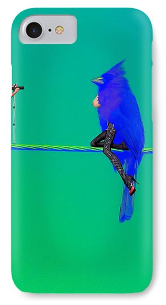 Birdwatcher IPhone Case