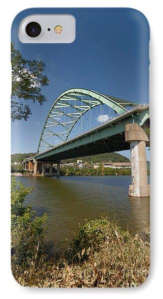 Birmingham Bridge Pittsburgh South Side Phone Case by Amy Cicconi