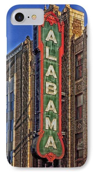 Birmingham's Alabama Theatre IPhone Case by Mountain Dreams
