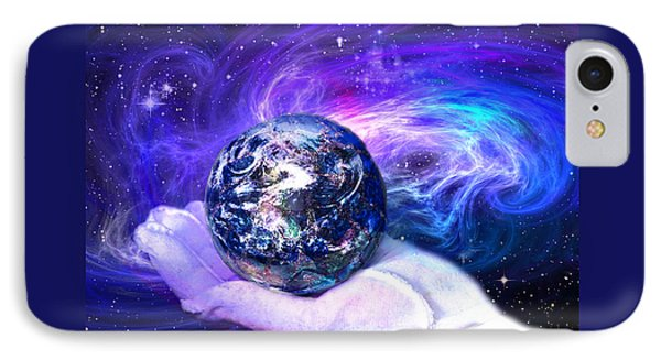 Birth Of A Planet IPhone Case by Lisa Yount